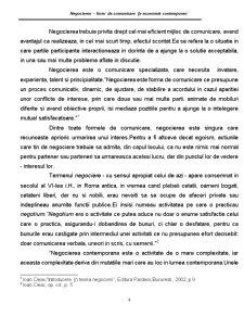 Negocierea - Forma de Comunicare in Economia Contemporana - Pagina 4