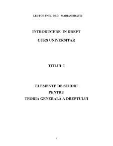 Cursuri de Drept - Pagina 1