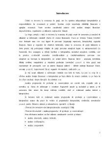 Contabilitatea Consumurilor și Cheltuielelor de Productie, Analiza Lor - Pagina 1
