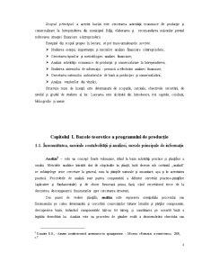 Contabilitatea Consumurilor și Cheltuielelor de Productie, Analiza Lor - Pagina 2