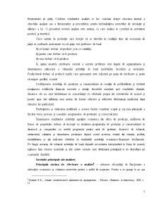 Contabilitatea Consumurilor și Cheltuielelor de Productie, Analiza Lor - Pagina 3