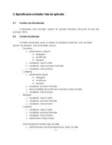 Baze de Date pentru Gestionarea Activității unei Societăți Comerciale - Pagina 4