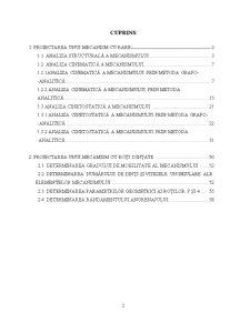 Proiect Mecanisme si Teoria Masinii - Pagina 2