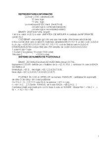 Prelucrarea Logică a Informației Binare - Pagina 1