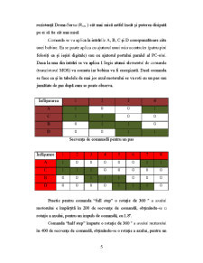 Comanda unui Motor Pas cu Pas cu PIC16F84A - Pagina 5