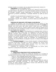 Asigurări de Răspundere Civilă - Pagina 5