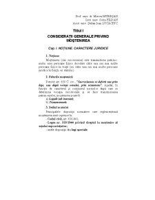 Drept Civil - Succesiuni - Pagina 1