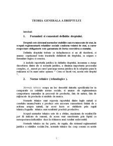 Teoria Generala a Dreptului - Pagina 2