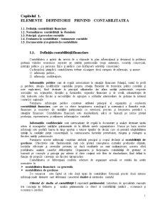 Contabilitate Financiară - Pagina 1
