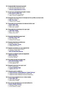 Teste Grila - Geografie Economica - Pagina 5