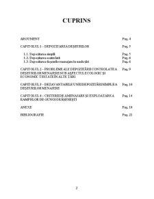 Depozitarea Deșeurilor - Pagina 2