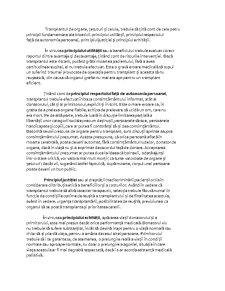 Etica in Transplantele de Organ - Pagina 5