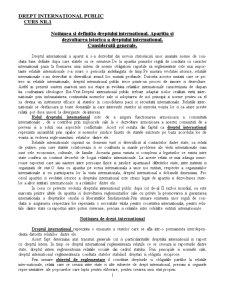 Drept International Public - Curs 1 - Pagina 1