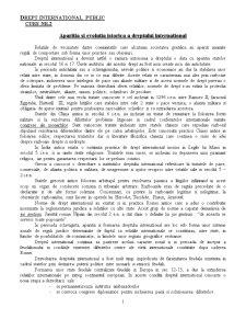 Drept International Public - Curs 2 - Pagina 1