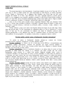 Drept International Public - Curs 3 - Pagina 1