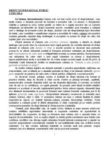 Drept International Public - Curs 4 - Pagina 1