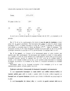 Interacțiuni Genice - Pagina 2