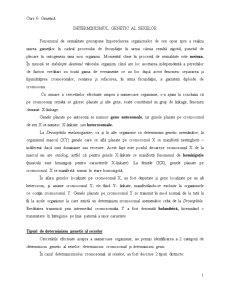 Determinismul Genetic al Sexelor - Pagina 1