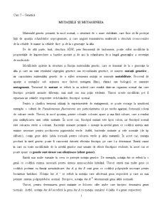 Mutațiile și Mutageneza - Pagina 1