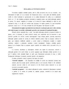 Reglarea Activității Genice - Pagina 1
