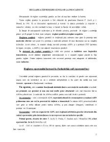 Reglarea Activității Genice - Pagina 2