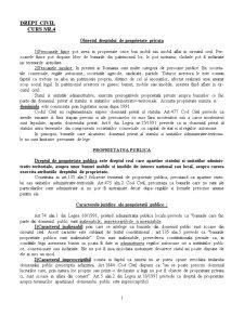 Drept Civil - Curs 4 - Pagina 1