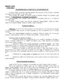 Drept Civil - Curs 6 - Pagina 1