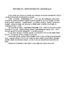 Hipotensiunea Arterială - Pagina 1