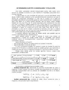 Duritatea Apei - Pagina 1