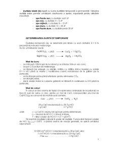 Duritatea Apei - Pagina 2