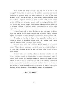 Tehnologia de Obtinere a Laptelui Batut - Pagina 5