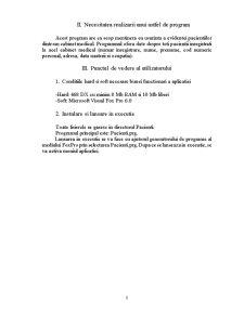Evidența Pacienților dintr-un Cabinet Medical - Pagina 4