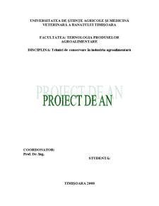 Tehnologii -Instalatii, Utilaje, Parametrii de Operare- de Conservare, Dezinfectare a Condimentelor, Sistemelor Condimentare - Pagina 1
