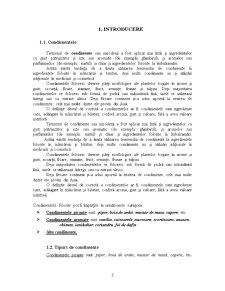 Tehnologii -Instalatii, Utilaje, Parametrii de Operare- de Conservare, Dezinfectare a Condimentelor, Sistemelor Condimentare - Pagina 3