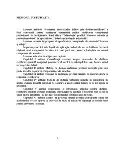 Separarea Amestecurilor Lichide prin Distilare-Rectificare - Pagina 2