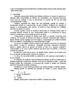 Separarea Amestecurilor Lichide prin Distilare-Rectificare - Pagina 3