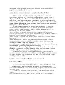 Analiza economico-financiară a unei Societăți Comerciale - Pagina 5