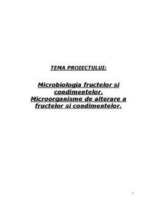 Microbiologia Fructelor și Condimentelor - Microorganisme de Alterare a Fructelor și Condimentelor - Pagina 2