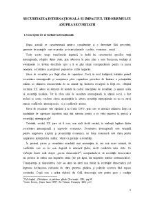 Riscuri si Amenintari la Adresa Romaniei - Contributia Romaniei la Lupta Impotriva Terorismului - Pagina 4