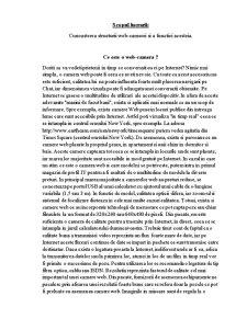 Structura si Functiile Web-Camerei - Pagina 2