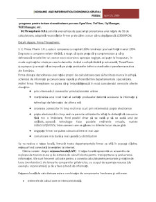 Proiectarea unei Retele de Calculatoare - Pagina 3
