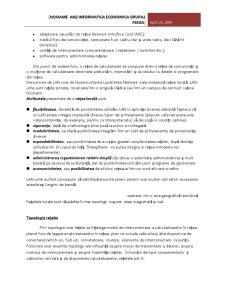 Proiectarea unei Retele de Calculatoare - Pagina 4