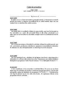 Caiet de Practica la Calculatoare si Automatizari - Pagina 3