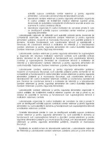 Condițiile Generale și Specifice pentru Autorizarea Laboratoarelor Supuse Controlului Sanitar Veterinar și pentru Siguranța Alimentelor - Pagina 3