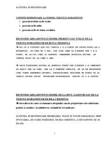 Actiunea in Revendicare - Pagina 3