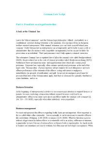 German Law Script - Pagina 1