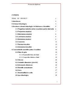 Proiectarea unei Linii Tehnologice de Obtinere a Biscuitilor Glutenosi - Pagina 2