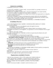 Sinteza Curs Bazele Contabilitatii - Pagina 2