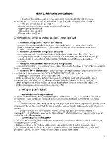 Sinteza Curs Bazele Contabilitatii - Pagina 5