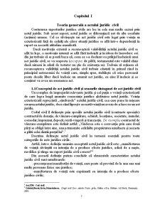 Condițiile de Valabilitate ale Actului Juridic Civil - Pagina 5